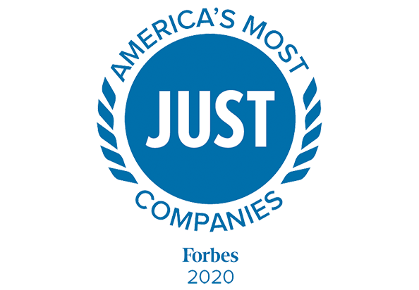 Forbes, America's Most JUST Companies
